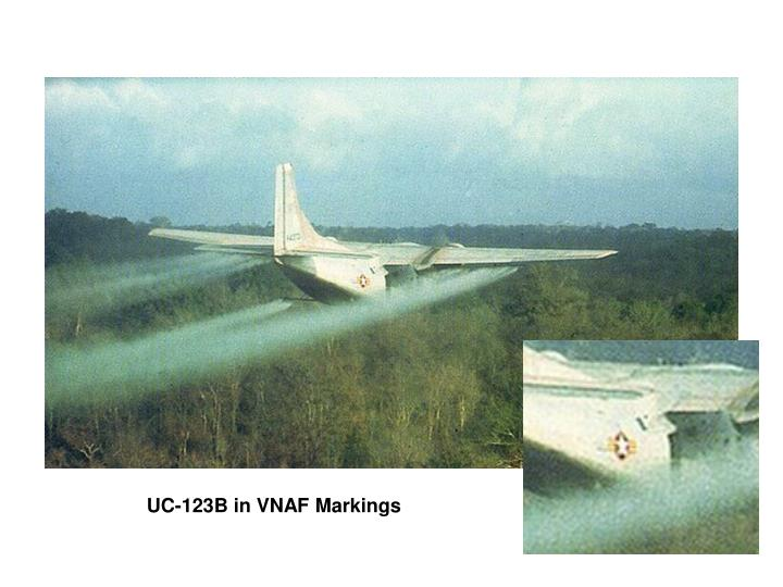 UC-123B in VNAF Markings