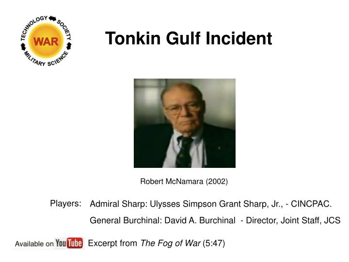 Tonkin Gulf Incident