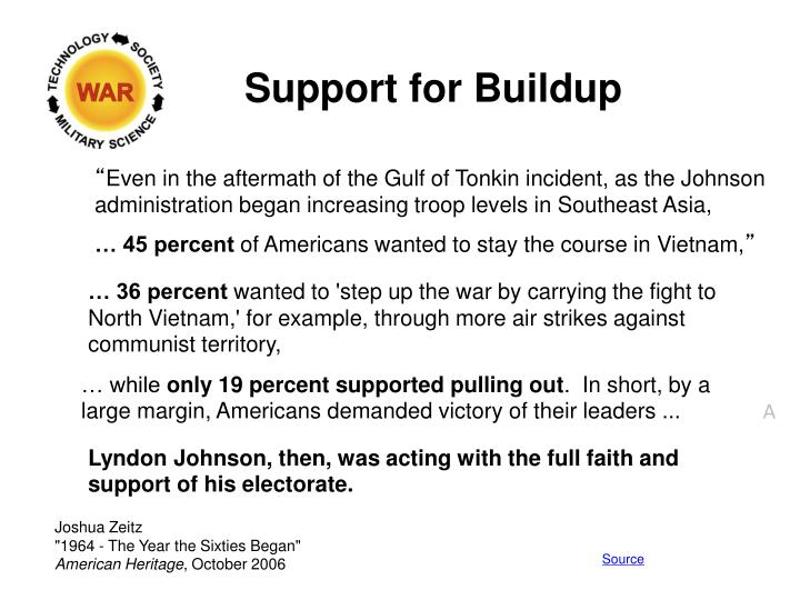 Support for Buildup