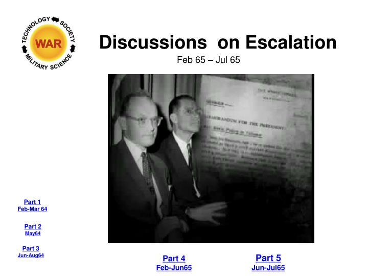Discussions  on Escalation