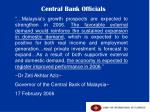 central bank officials1