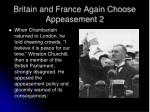 britain and france again choose appeasement 2