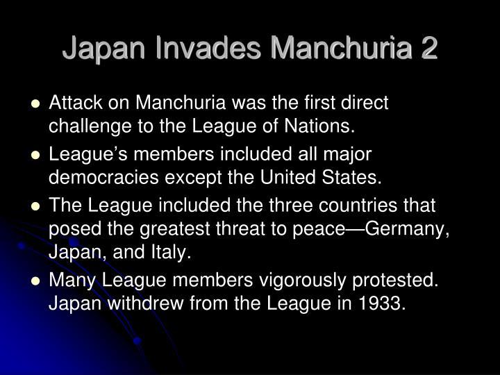 Japan Invades Manchuria 2