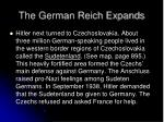 the german reich expands1