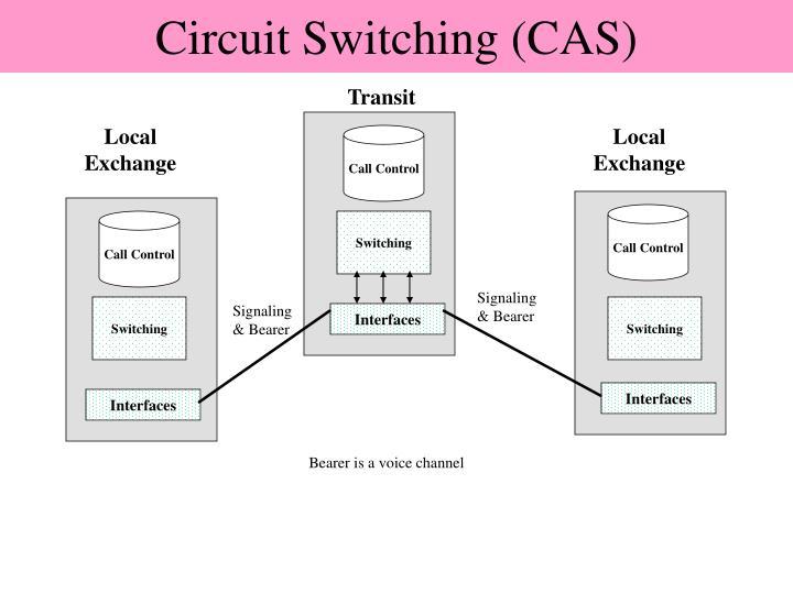 Circuit Switching (CAS)