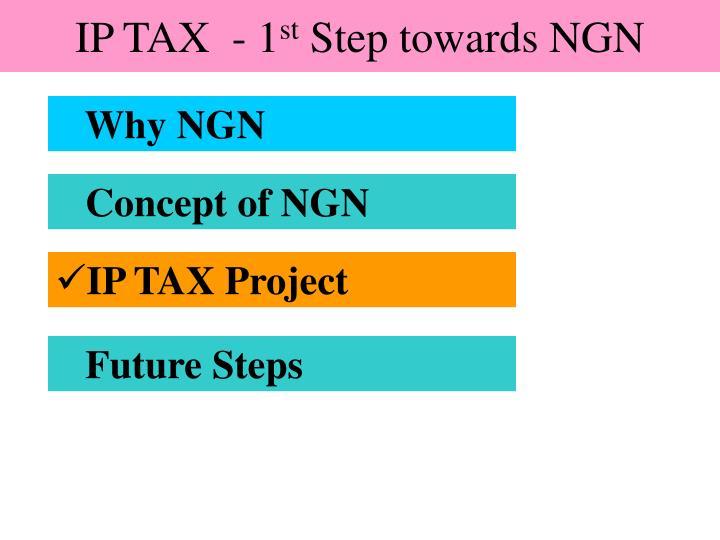 IP TAX  - 1
