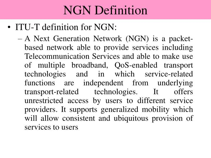 NGN Definition