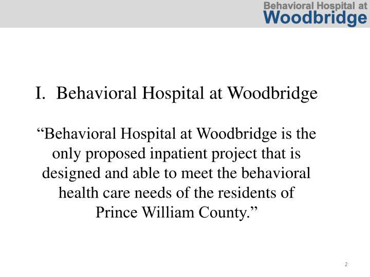 Behavioral Hospital at Woodbridge