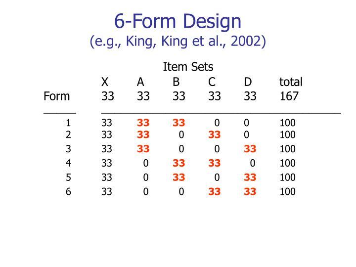 6-Form Design