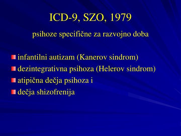 ICD-9, SZO, 1979