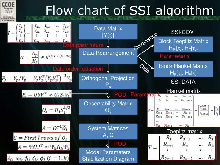Flow chart of SSI algorithm