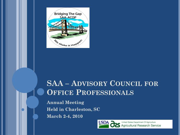 Saa advisory council for office professionals