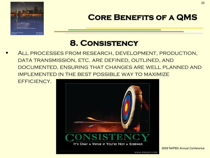 Core Benefits of a QMS