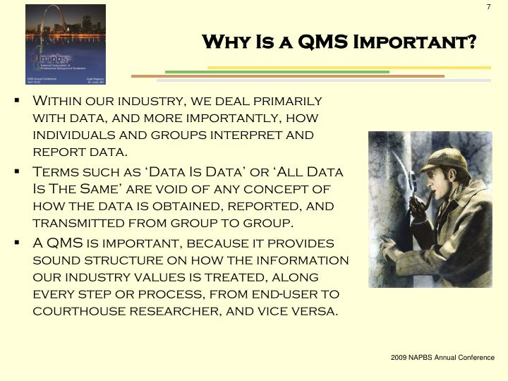 Why Is a QMS Important?