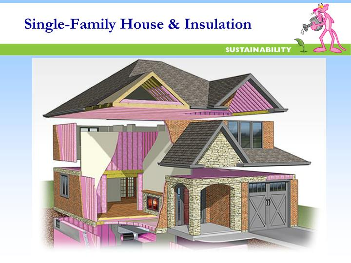 Single-Family House & Insulation