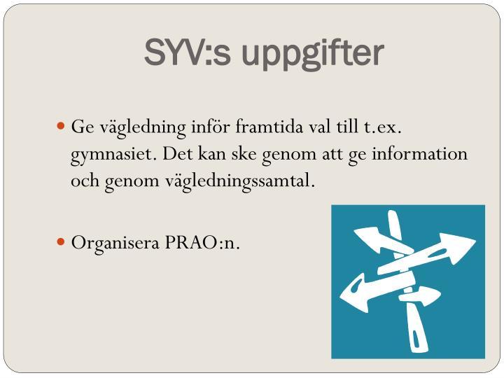 SYV:s