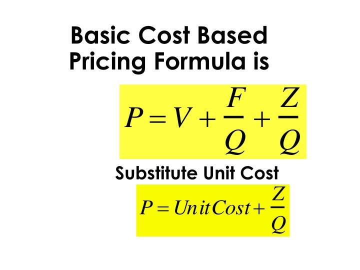Basic Cost Based