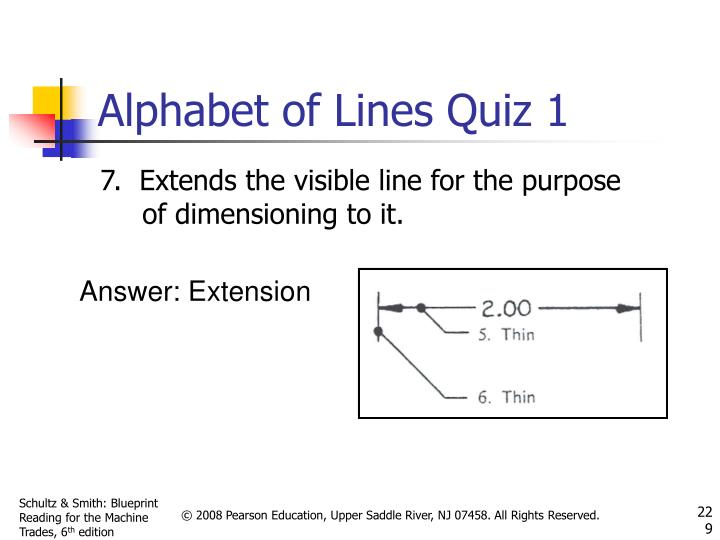 Alphabet of Lines Quiz 1