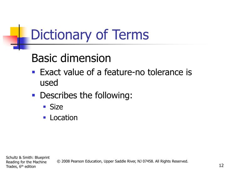 Dictionary of Terms