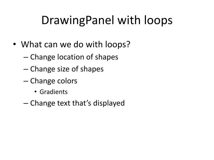 DrawingPanel