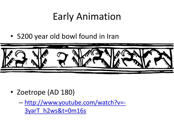 Early animation