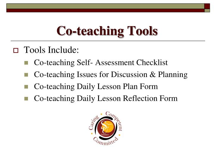 Co-teaching Tools