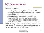 tqi implementation2