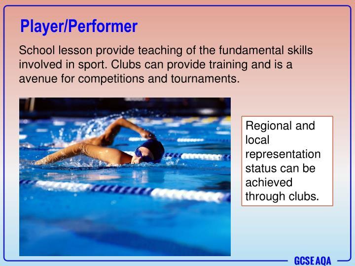 Player/Performer