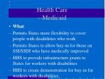 health care medicaid