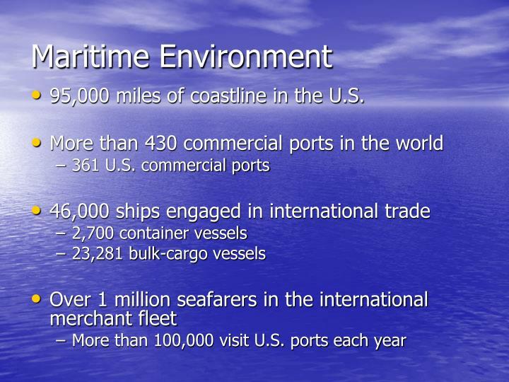 Maritime Environment