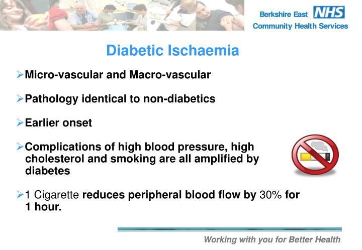 Diabetic Ischaemia