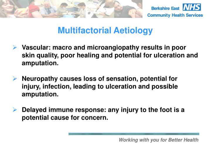 Multifactorial Aetiology