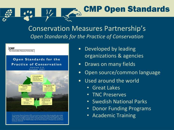 Conservation Measures Partnership's