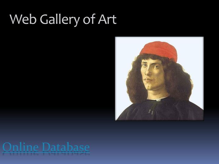 Web Gallery of Art