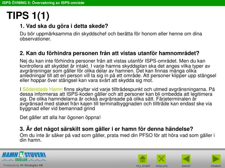 TIPS 1(1)