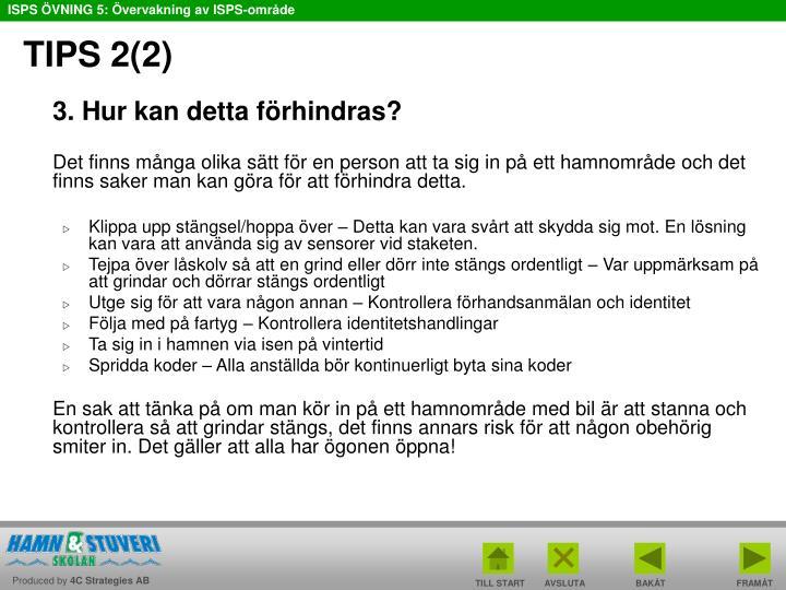 TIPS 2(2)