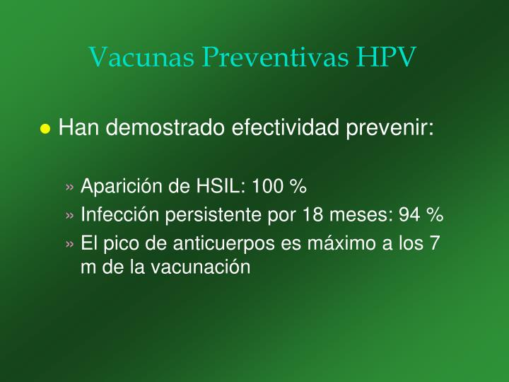 Vacunas Preventivas HPV