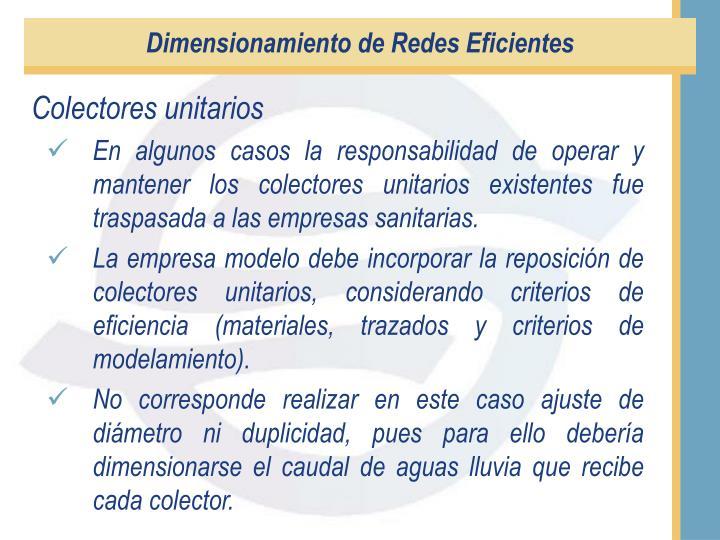 Dimensionamiento de Redes Eficientes