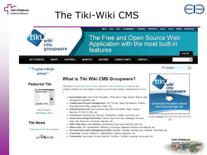 The Tiki-Wiki CMS