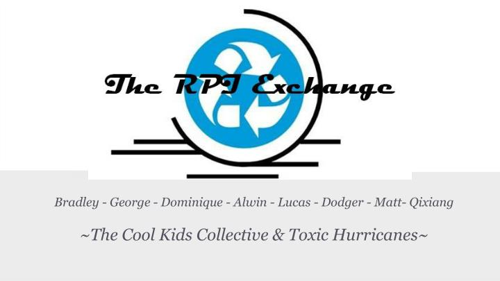 Bradley george dominique alwin lucas dodger matt qixiang the cool kids collective toxic hurricanes