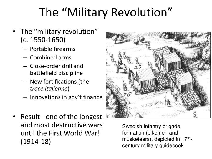 "The ""Military Revolution"""