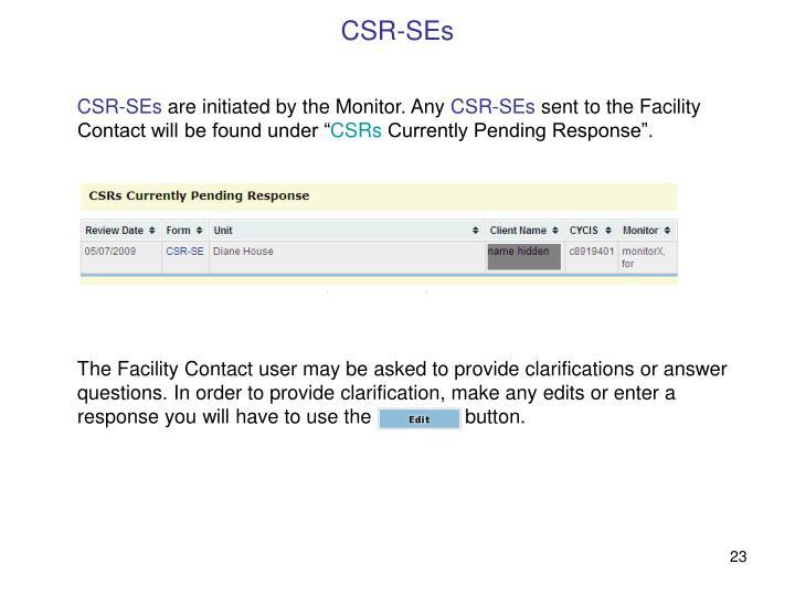 CSR-SEs