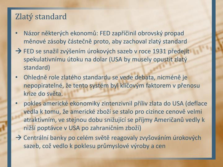 Zlatý standard