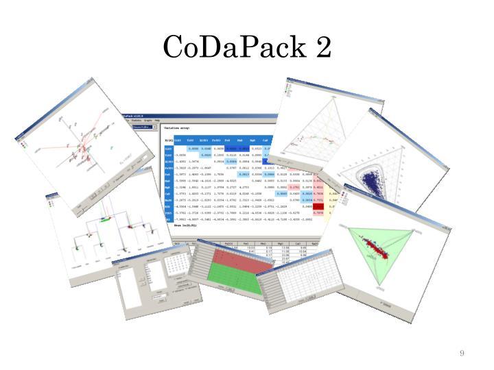 CoDaPack 2