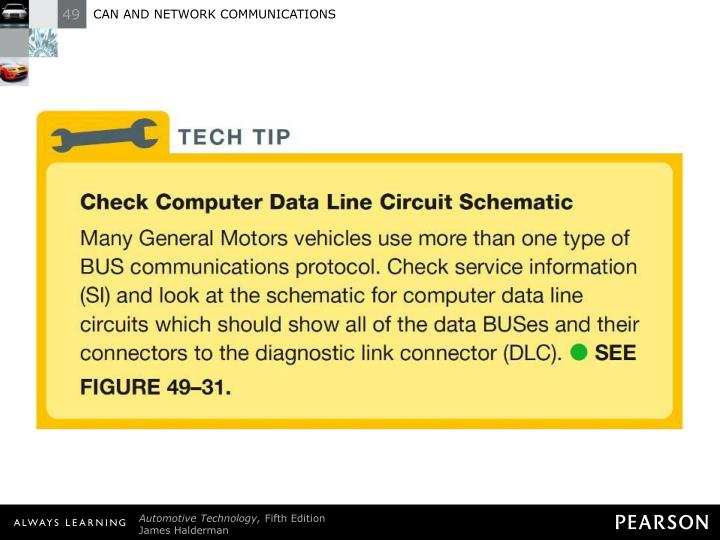 TECH TIP: Check Computer Data Line Circuit Schematic