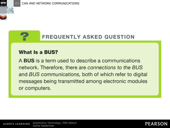 FREQUENTLY ASKED QUESTION: What Is a BUS?