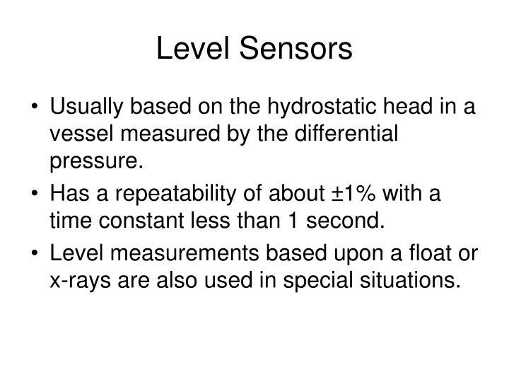 Level Sensors