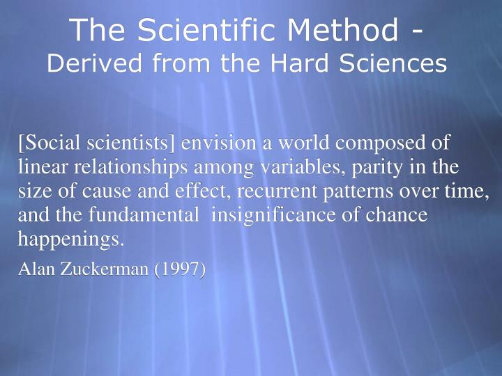 The Scientific Method -