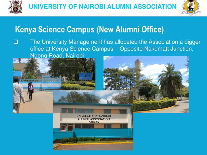 Kenya Science Campus (New Alumni Office)