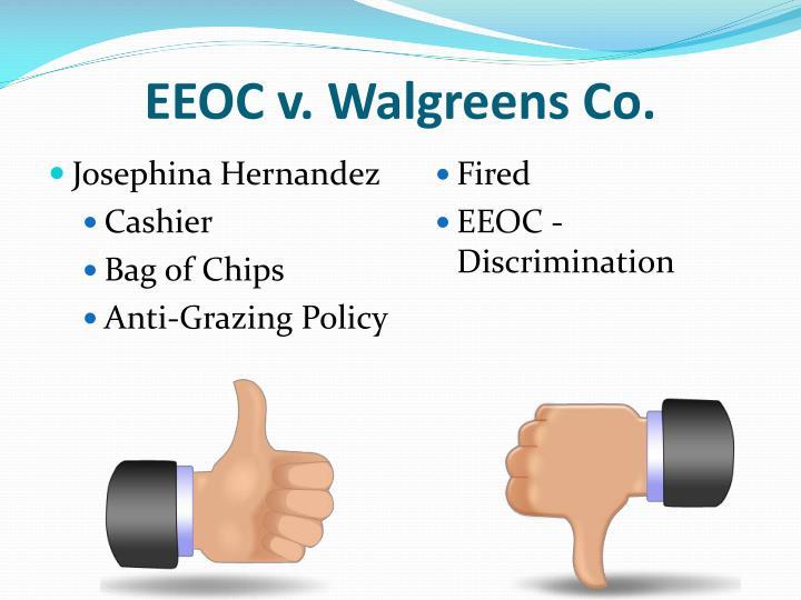 EEOC v. Walgreens Co.